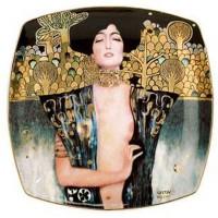 Talerz Judyta 21cm Gustaw Klimt Goebel