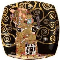 Talerz Spełnienie 21cm Gustaw Klimt Goebel