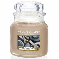 Świeca średnia Seaside Woods Yankee Candle