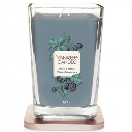 Świeca kwadratowa duża z 2 knotami Dark Berries Yankee Candle