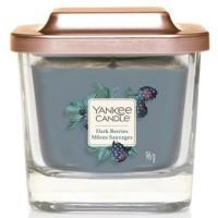 Świeca kwadratowa mała z 1-knotem Dark Berries Yankee Candle