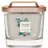 Świeca kwadratowa mała z 1-knotem Exotic Bergamot Yankee Candle