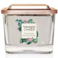 Świeca kwadratowa średnia z 3- knotami Exotic Bergamot Yankee Candle