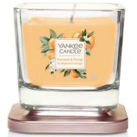 Świeca kwadratowa mała Kumquat & Orange Yankee Candle