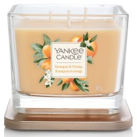 Świeca kwadratowa średnia z 3- knotami Kumquat & Orange Yankee Candle
