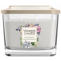 Świeca kwadratowa średnia z 3- knotami Passionflower Yankee Candle