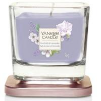 Świeca kwadratowa mała Sea Salt & Lavender Yankee Candle