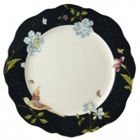 Talerz obiadowy Midnight Uni 24.5cm Laura Ashley Heritage