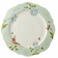 Talerz obiadowy Mint Uni 24.5cm Laura Ashley Heritage