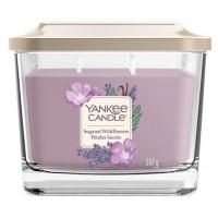 Świeca kwadratowa średnia z 3- knotami Sugared Wildflowers Yankee Candle