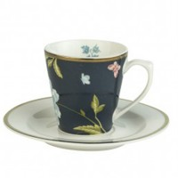 Filiżanka espresso Midnight Uni 80ml Laura Ashley Heritage