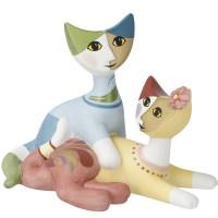 Figurka Kot ''Cara e Elio'' 8 cm Rosina Wachtmeister Goebel