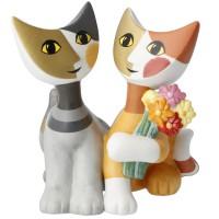 Figurka koty Mazzo di fiori  9,5cm Rosina Wachtmeister Goebel