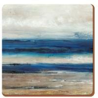 Podkładki Blue Abstract 10.5x10.5 cm Creative Tops