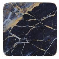 Podkładki Granatowy marmur 10x10 cm Creative Tops