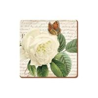 Podkładki Rose garden 10.5x10.5 cm Creative Tops