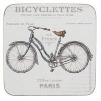 Podkładki Rower 10.5x10.5 cm Creative Tops