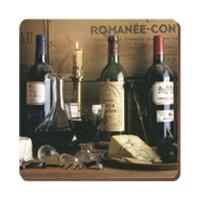 Podkładki Vintage wine 10.5x10.5 cm Creative Tops