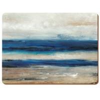 Podkładki Blue abstract CT 40x29 cm, 4 szt