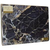 Podkładki Granatowy marmur CT 40x29 cm, 4 szt
