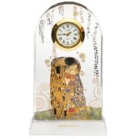 Zegar Pocałunek 11cm Gustaw Klimt Goebel
