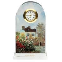 Zegar Dom Artysty 11cm Claude Monet Goebel