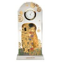 Zegar Pocałunek 23 cm Gustaw Klimt Goebel