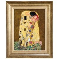 Obraz Pocałunek 28x34cm Gustav Klimt Goebel
