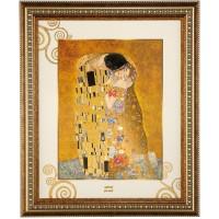 Obraz Pocałunek 48x58cm Gustav Klimt Goebel