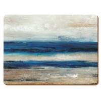 Podkładki Blue Abstract CT 30 x 22 cm, 6 szt
