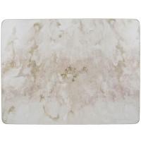 Podkładki Szary marmur CT 30 x 22 cm, 6 szt