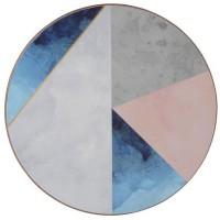 Podkładki Geometric palette 12 cm Creative Tops