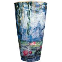 Wazon Seerosen mit Weide 50cm Claude Monet Goebel