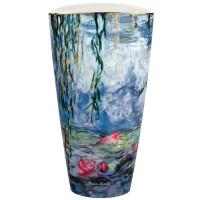 Wazon Seerosen mit Weide 28cm Claude Monet Goebel