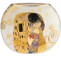 Wazon Pocałunek 22cm Gustav Klimt Goebel