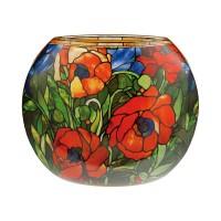 Wazon  Orientalische Mohnblume 22 cm Louis Comfort Tiffany  Goebel
