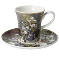 Zestaw 2 filiżanek espresso Wiosenne kwiaty 100 ml Auguste Renoir Goebel