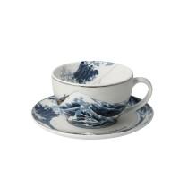 Filiżanka cappucino Fale 250 ml Katsushika Hokusai  Goebel