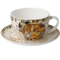Filiżanka cappucino Spełnienie 250 ml Gustaw Klimt Goebel
