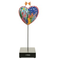 Figurka It's heart not to love my city  33cm James Rizzi Goebel
