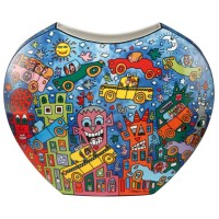 Wazon Not Getting Around the Traffic 21cm James Rizzi Goebel