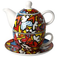 Tea for one All We Need is Love 350ml Romero Britto Goebel