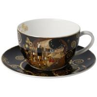 Filiżanka cappucino Pocałunek 500 ml Gustaw Klimt Goebel