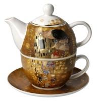 Tea for one Pocałunek 350ml  Gustav Klimt Goebel