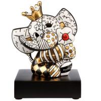 Figurka Golden Spring Elephant 14cm Romero Britto Goebel