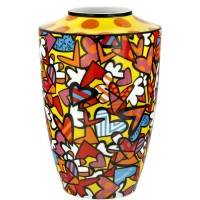Wazon All we need is love 24cm Romero Britto Goebel