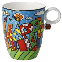 Zestaw kubków Happy 400ml Romero Britto Goebel