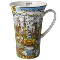 Kubek Oktoberfest in Munich 500ml Charless Fazzino Goebel