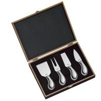 Zestaw noży do serów 4 elementy Cilio