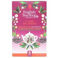 Herbata  A Pure Sri Lankan 20 saszetek English Tea Shop